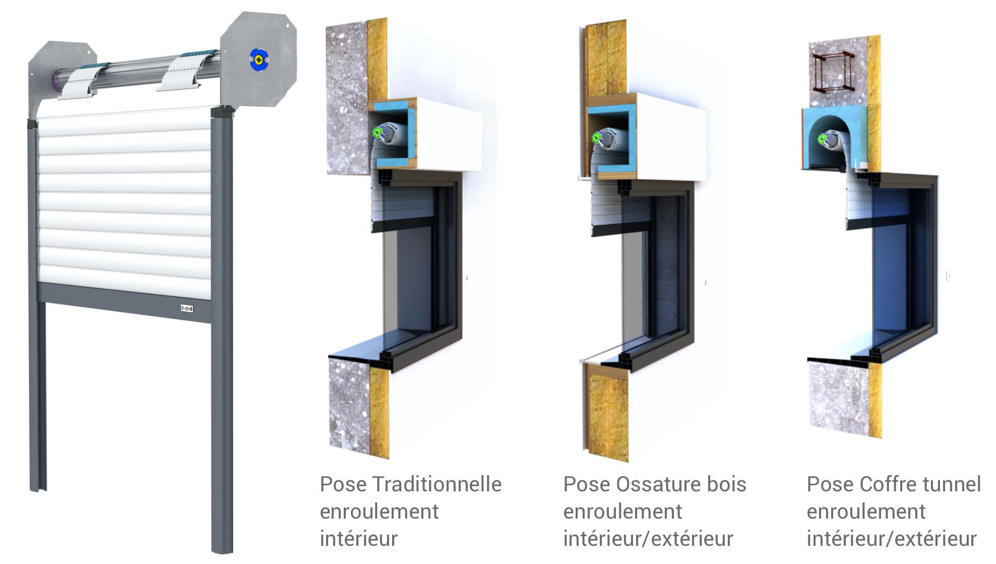 Poser Des Tringles À Rideaux Avec Coffre Volet Roulant verandas et fermetures - spécialiste en menuiserie aluminium